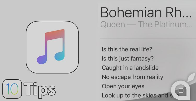 IOS 10 Tips: how to display song lyrics in Apple's