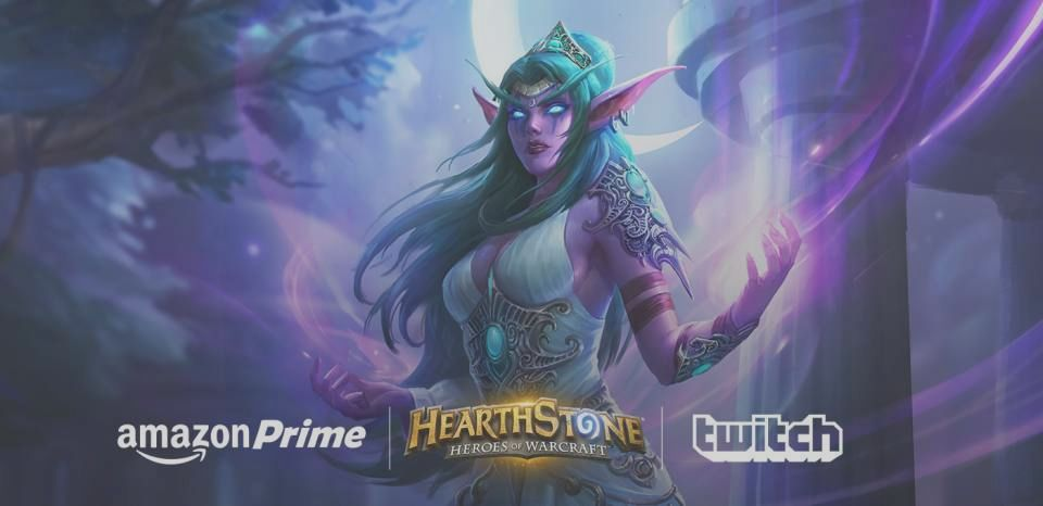 Twitch First: A new character of Hearthstone and a