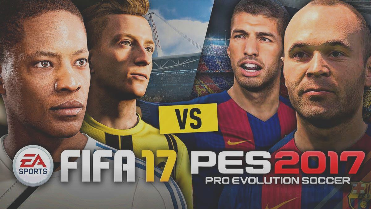 FIFA 17 wins against PES 2017 in sales   BitFeed co