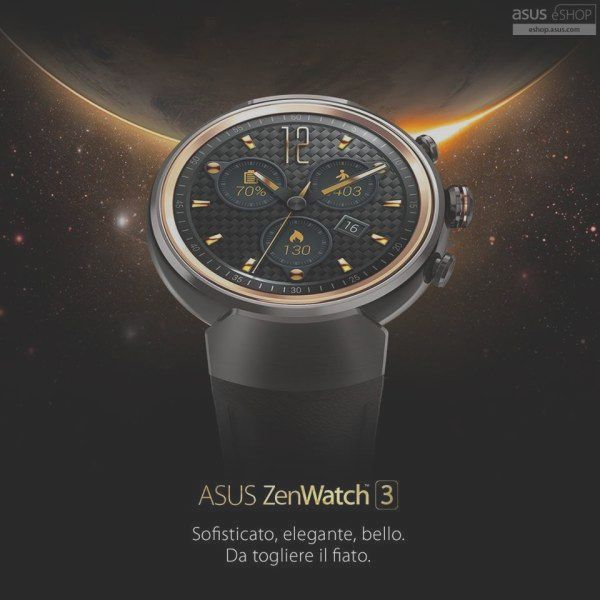 ASUS ZenWatch 3 available for purchase in the offi ...