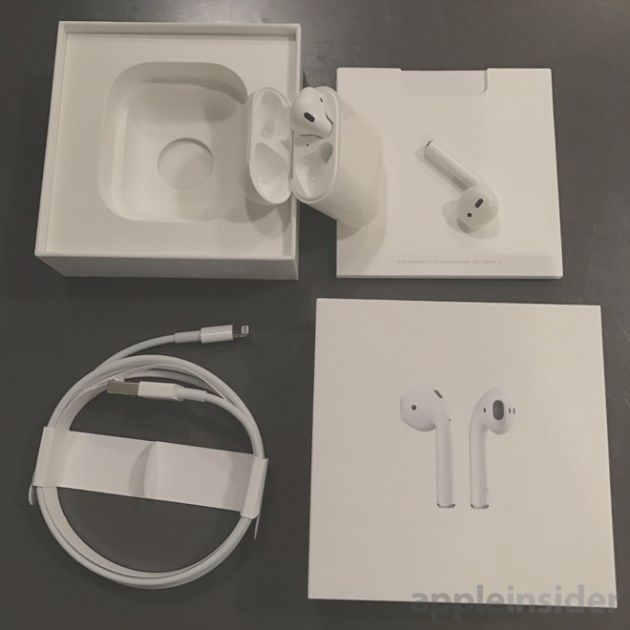 AirPods Apple: here's the first unboxing | BitFeed co