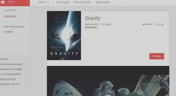 Weekly offers on Google Play Movies: 59 pm sci-fi