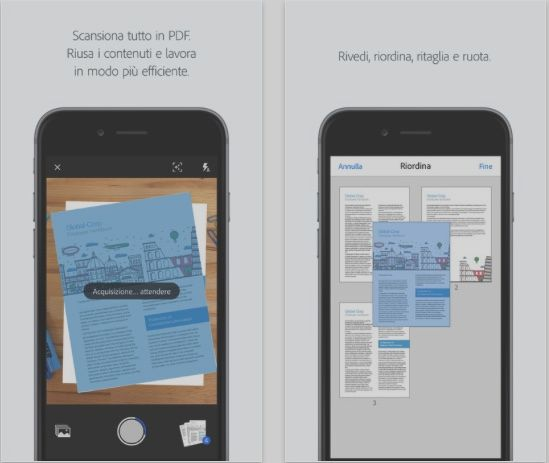 Adobe Scan, the new app OCR that turns the iPhone