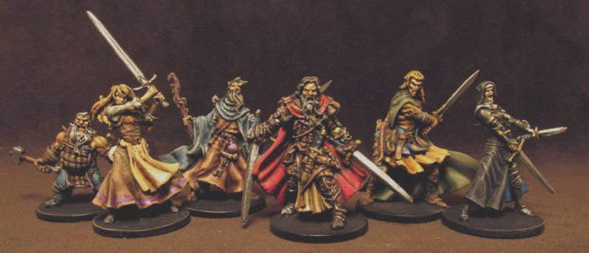 Zombicide Black Plague Wizards And Warriors Again