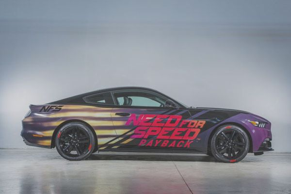 Was Born The Ford Mustang Customized By Need For Bitfeed Co