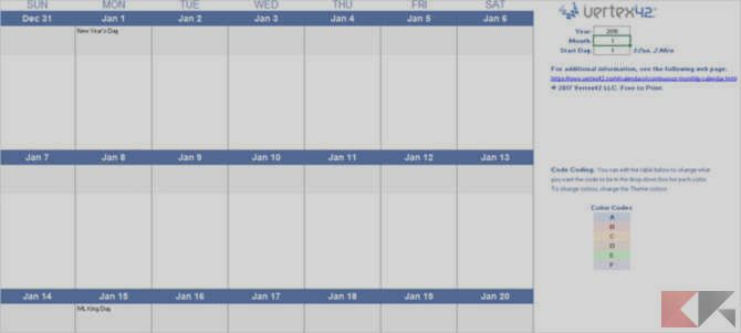 Template Calendar 2018 For Microsoft Office Bitfeed