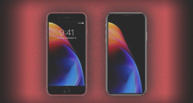 Here is the new wallpaper of the iphone 8 and 8 pl bitfeed outside of the new color variant the new smartphone presented do not present any difference with respect to the models already in the market voltagebd Choice Image