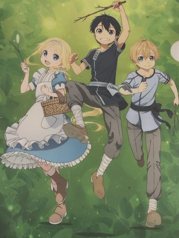 Sword Art Online New Key Visual For The Third Sea Bitfeed Co