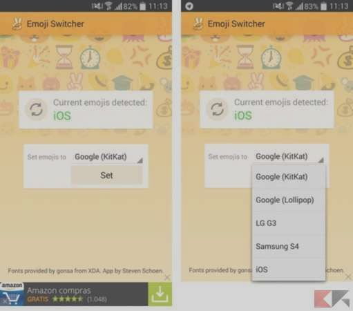 How to get the emoji from iPhone on Android | BitFeed co