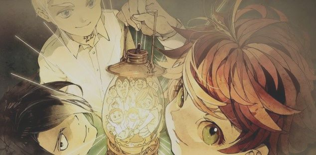 The Promised Neverland Arrival In The Manga Spin Bitfeedco