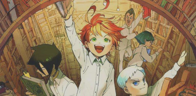 The Promised Neverland Norman Ray Don And Gild Bitfeed Co