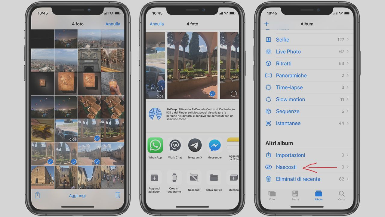 How to hide photos on the iPhone? | BitFeed co