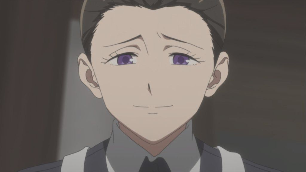 Image result for the promised neverland isabella anime