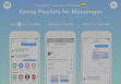 Spotify introduces you to the playlist of the group on Messenger