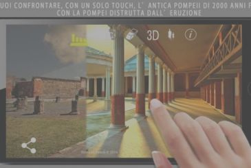 Pompeii Touch, the app that reconstructs the ancient Pompeii