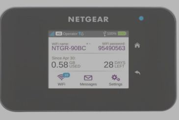 Netgear AirCard 810, the new mobile Wi-Fi hotspot to surf the mobility
