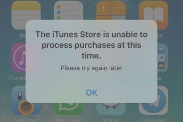 AppStore down and on the iPhone many users raging an annoying pop up.