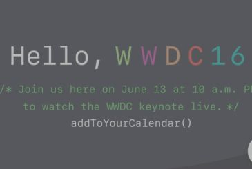 WWDC 2016: this year it will be possible to follow the keynote live streaming