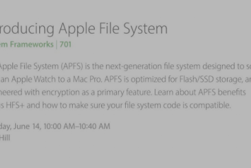 APFS, the new Apple file system
