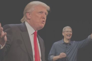 Apple does not offer any support to Donald Trump
