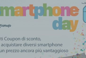 SMARTPHONE DAY, the first event weblog Scontiamolo.com to save money on your smartphone