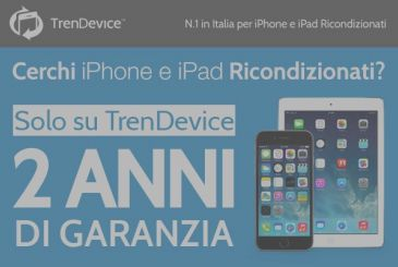 TrenDevice port 2 years Warranty on the iPhone and iPad reconditioned