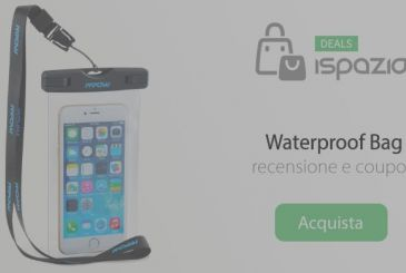 Waterproof housing, ideal for summer and to record video underwater 4,99€ | Review and Coupon