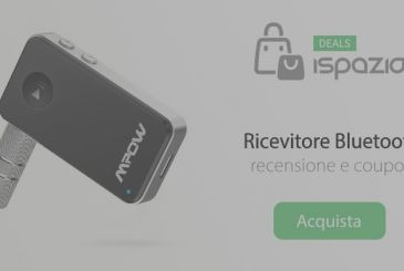 Ricevutore Bluetooth to play your own music in the stereo or in the car radio