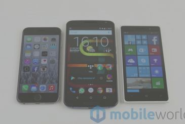 In Europe, the 3 new smartphone on 4, are Android
