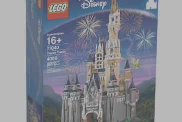 Lego will market the set of the castle of Disney, the detail