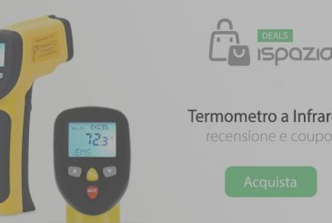 Review infrared Thermometer with dual laser beam measures temperature without contact | Coupon