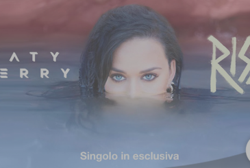 "The new single ""Rise"" by Katy Perry, exclusively on Apple's Music and iTunes Store"