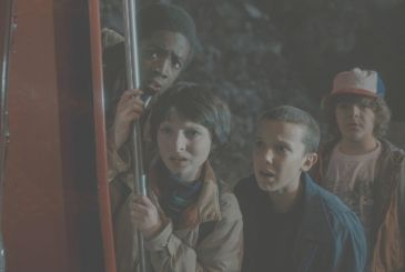 Stranger Things, and you are back in the '80s