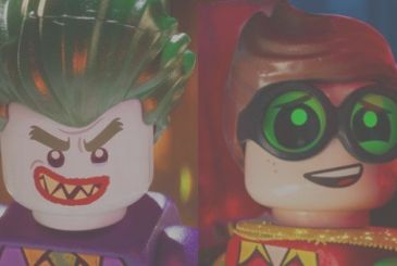 Here are the first images of the Joker and Robin from Lego Batman
