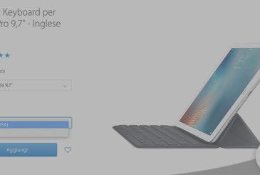 Apple makes available the Smart Keyboard for the iPad Pro also in the layout of the Italian