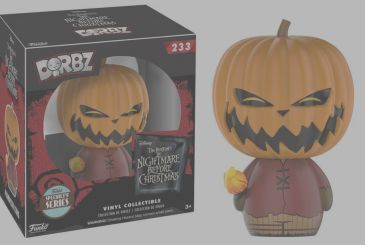 Max Rebo and Pumpkin King in the special Funko Pop and Dorbz!