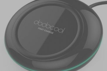 Discount code dodocool 10W Wireless Charger