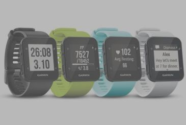 Here is the new smartwatch from Garmin