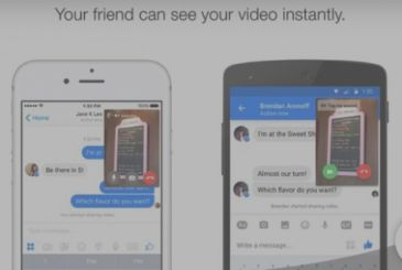 Now you can share live video in chat Messenger