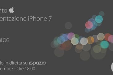 The Apple event – Presentation iPhone 7: Follow it live on the iSpazio on the 7th of September from 18:00 hours