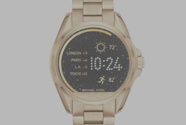 Michael Kors presents its smartwatch for iOS and Android