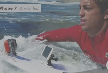 IPhone 6s and iPhone 7 are subjected to a water Resistance test, on a surfboard! [Video]