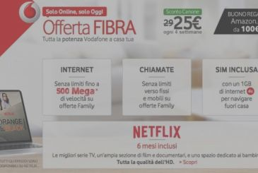 """Vodafone and Infostrada: ADSL offers with discount """"for ever"""" and other news"""