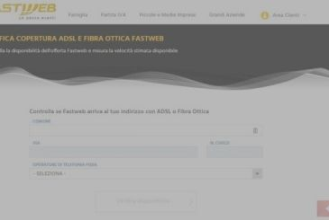 Cover Fastweb: how to verify it
