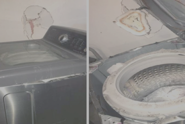 Samsung does a bang: after the Notes 7, begin to explode, even washing machines!