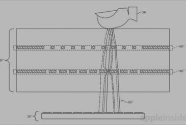 Apple patented a new Touch ID integrated in the display
