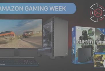 It started the Gaming Week: On Amazon super deals on Computers, consoles, games, headphones, monitors, components etc