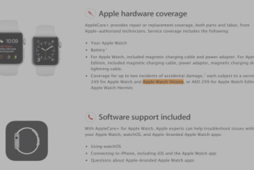 Apple Watch Victory: new model or name change?