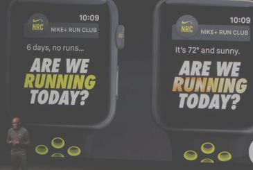 "The model Apple Watch Nike could change our name to ""Victory"""