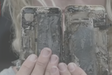 Apple starts an investigation after the case of an iPhone 7 that has caught fire